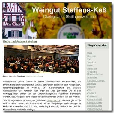 Winzer-Blog | www.steffens-kess.de