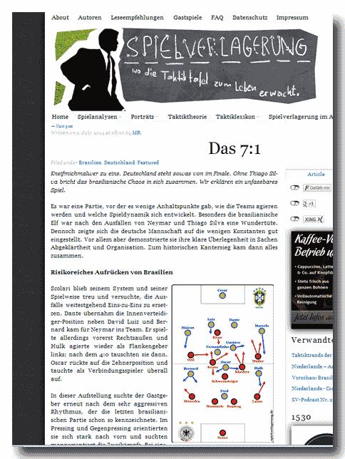 Fußball-Blog - Spielverlagerung_de